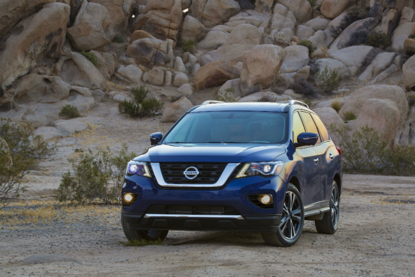 Nissan Pathfinder starts at $32,498