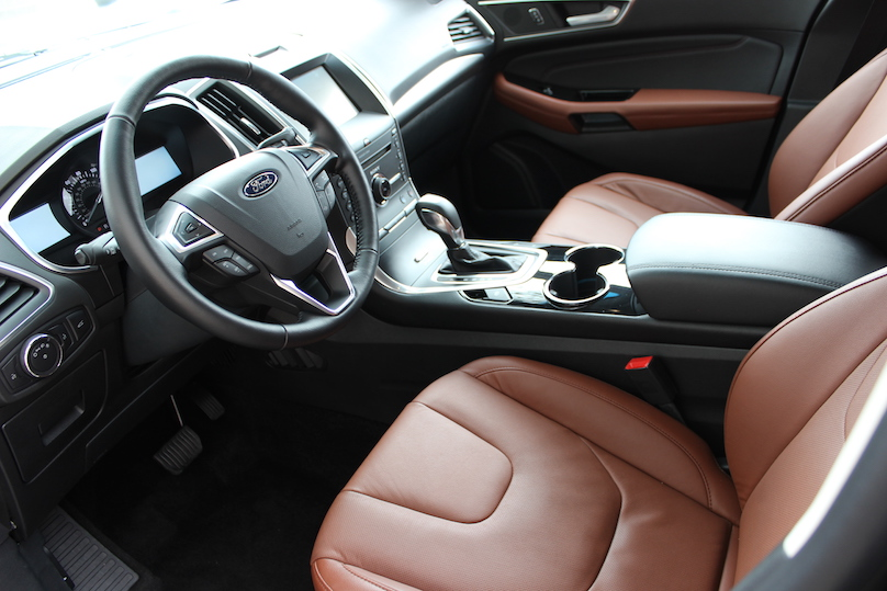 Ford edge sport interior
