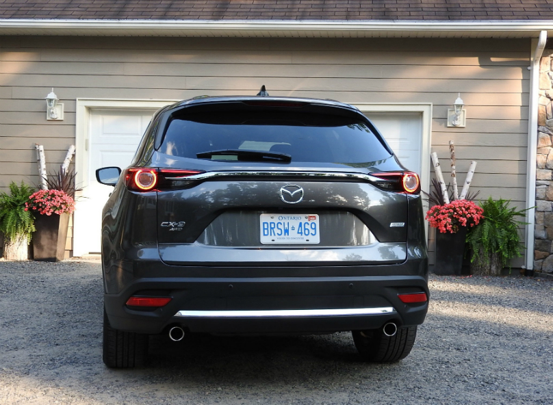 CX-9 three-row CUV moves to contender status