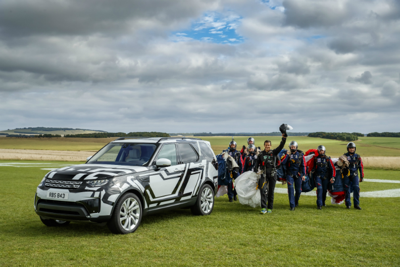 Extreme test for Land Rover seat technology