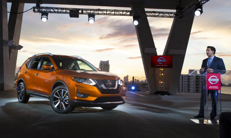 Nissan Rogue debuts in Miami