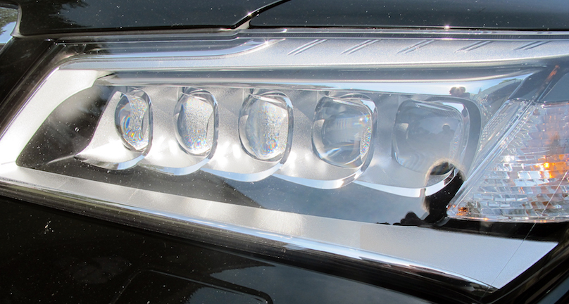 acura mdx headlights