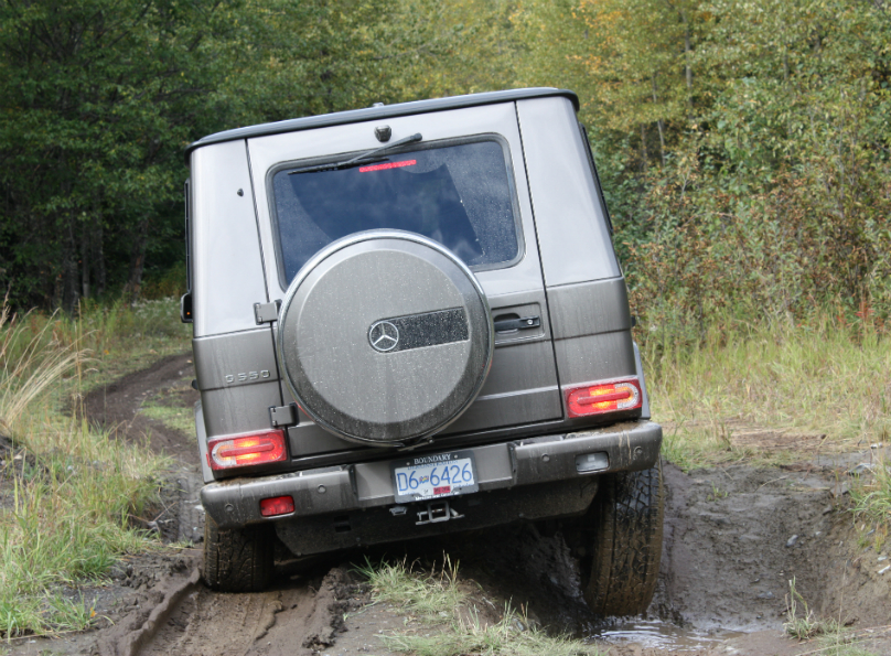 G-Class in its natural environment