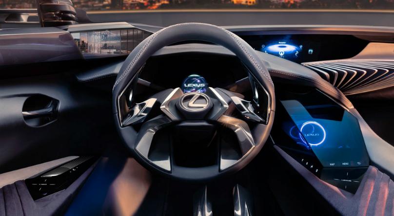 Lexus Ux Crossover Concept Interior Revealed Wheels Ca