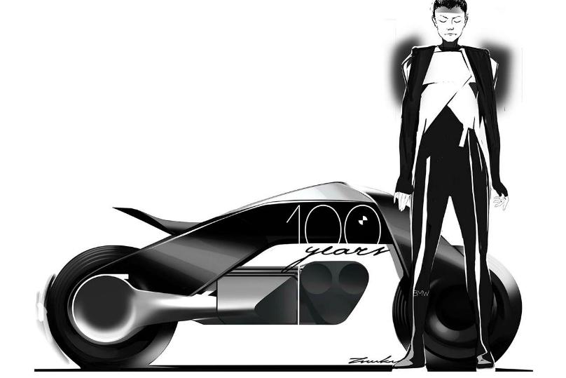 bmw unveils vision next 100 motorcycle concept - wheels.ca