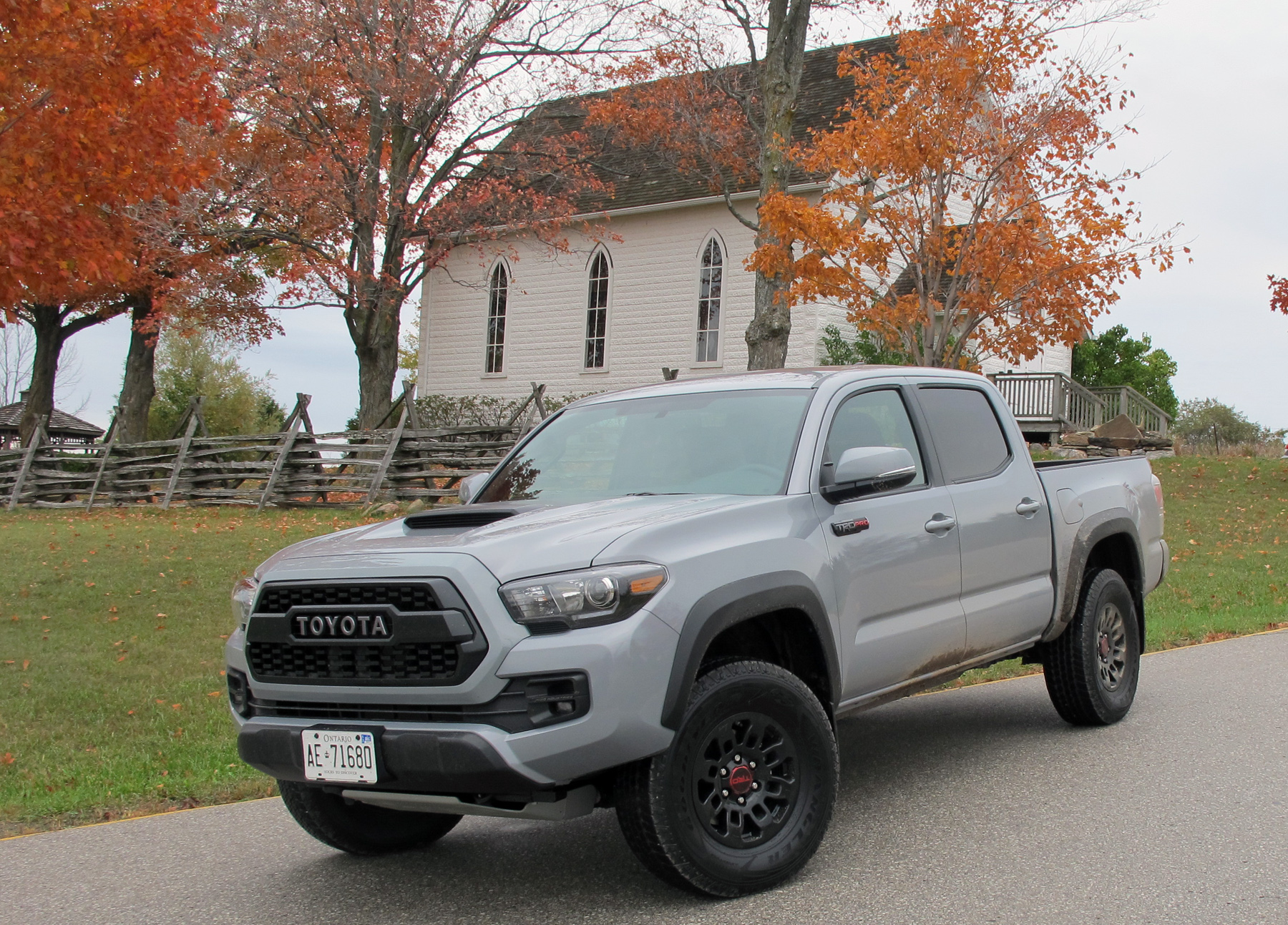 Tacoma Goes Anywhere In Trd Pro Style Wheels Ca