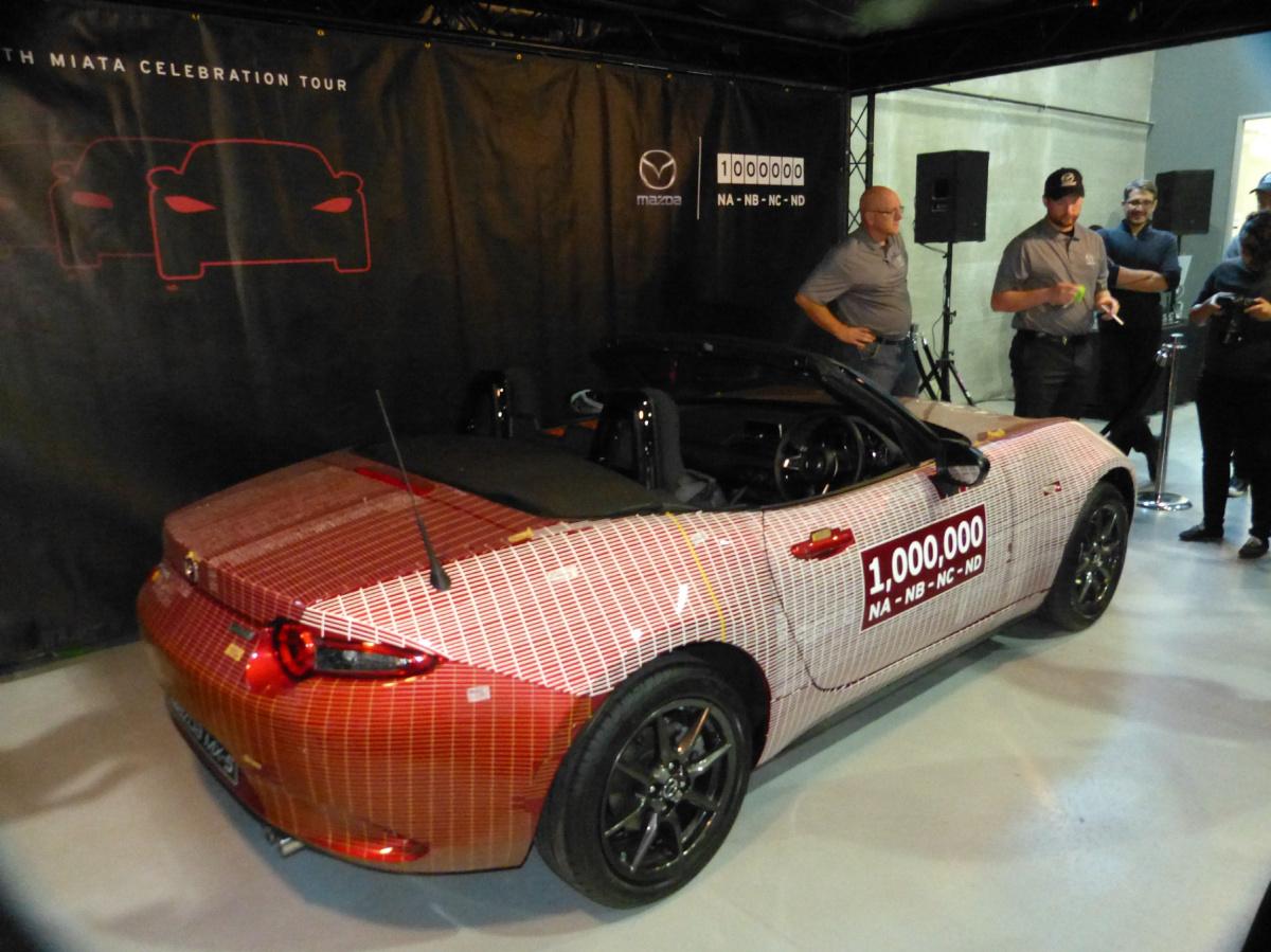 One-millionth Mazda
