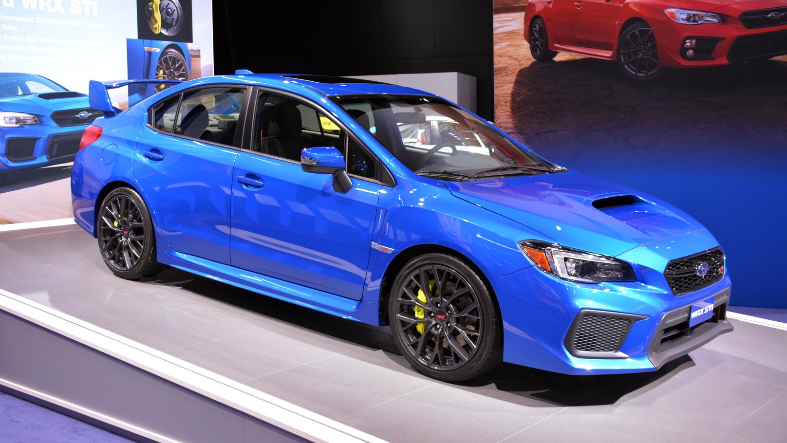 Subaru WRX STi North American International Auto Show