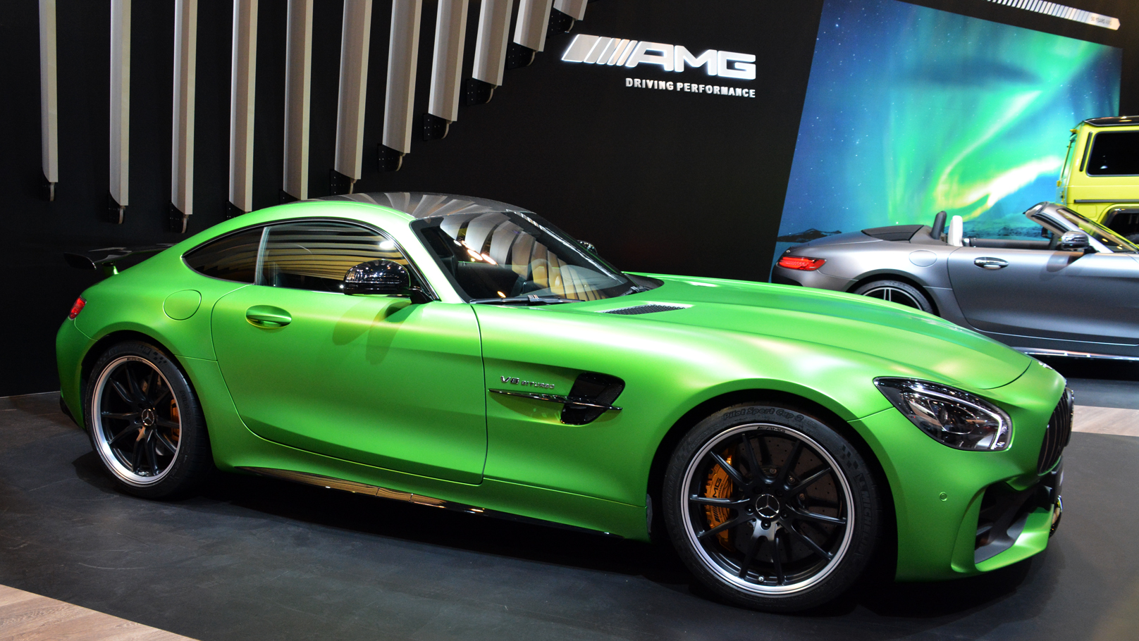 2017 canadian international auto show Mercedes AMG GT R