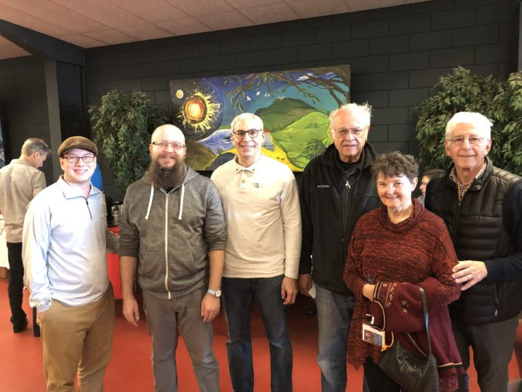 Jesus Film Staff @ the conference in the Netherlands, including Jim Green (right), the executive director of JFP from 2005-2012.