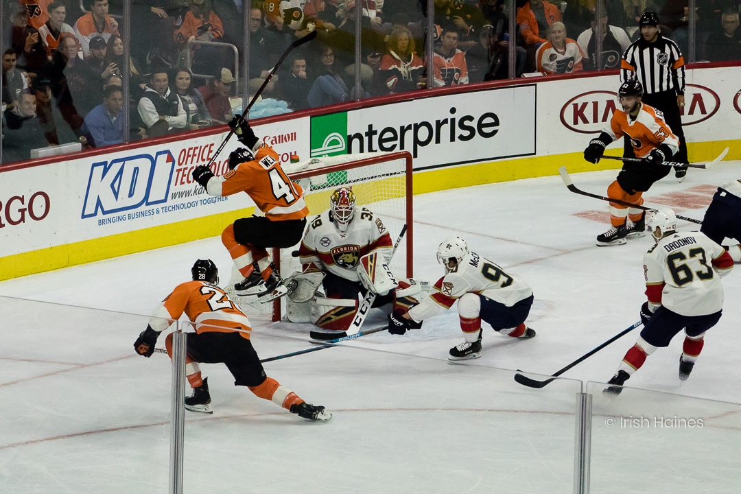 FLYERS vs PANTHERS 10.16-2