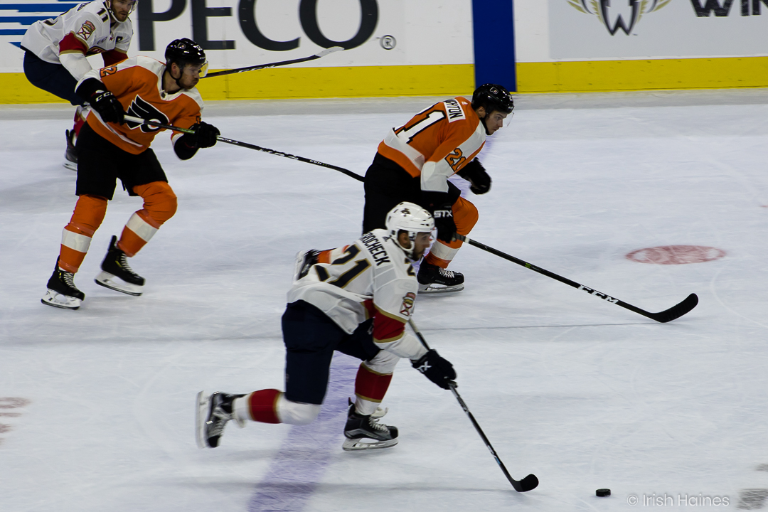 FLYERS vs PANTHERS 10.16-35