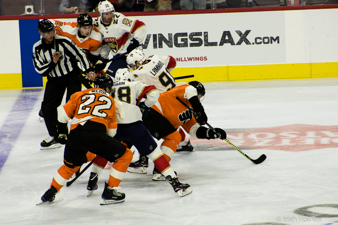 FLYERS vs PANTHERS 10.16-43