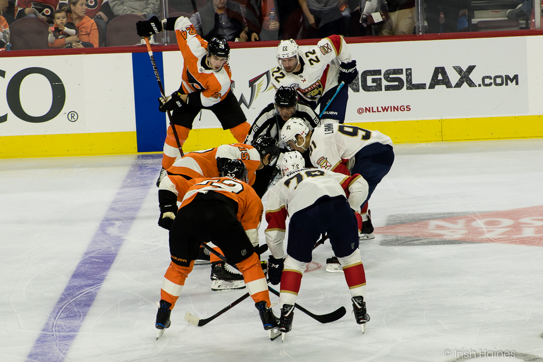FLYERS vs PANTHERS 10.16-42