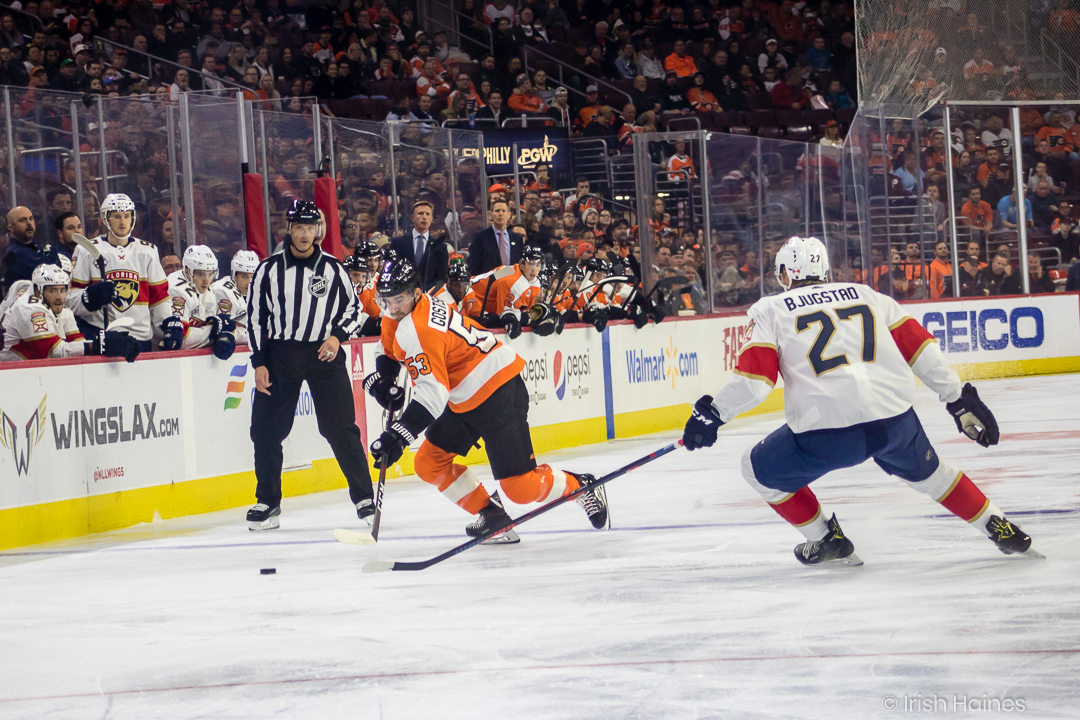 FLYERS vs PANTHERS 10.16-7