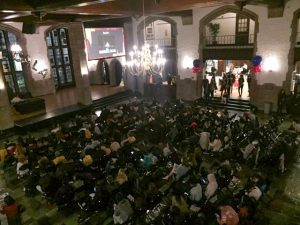 Global Gala Crowd - Contributed by Lila Gordon