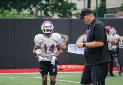 Spring Practice Notes: Day 1, Carey on Competition