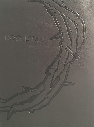 Study Bible Personal Size - Designer Charcoal - Crown of Thrones