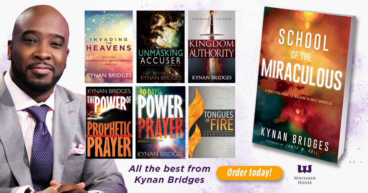 Prophetic Prayer and the Kingdom of God with Kynan Bridges ...  |Kingdom Authority Kynan Bridges