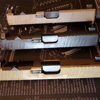 Complete pistol slides (G19)
