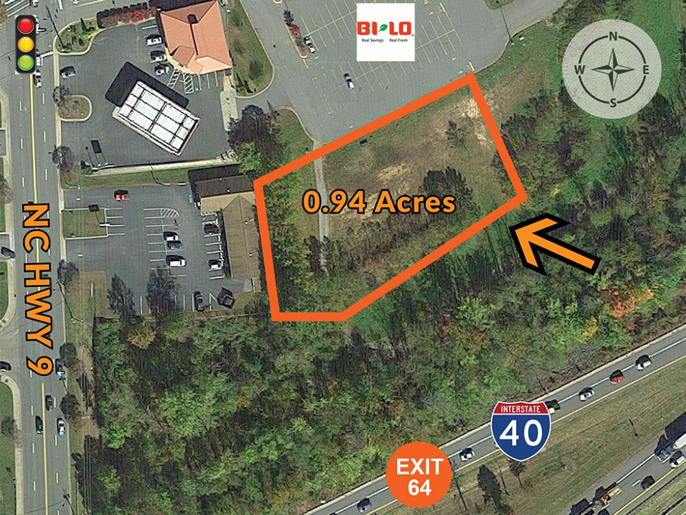 For Sale - 0 94 Acres outparcel at I-40, Exit 64 in Black Mountain, NC