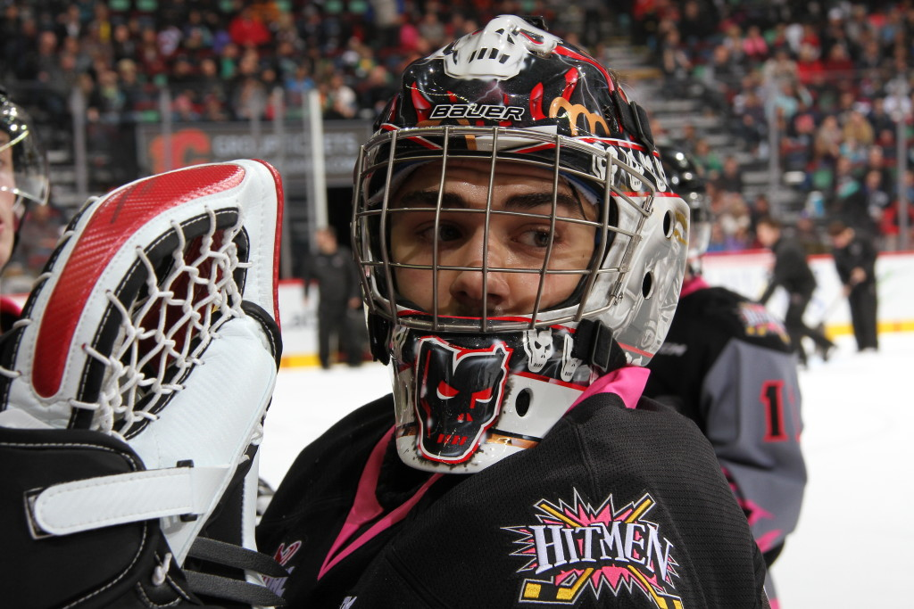 Evan Johnson Gets A Face Lift Calgary Hitmen