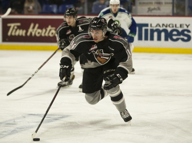 James Malm is expected to make his Hitmen debut. He will wear #28