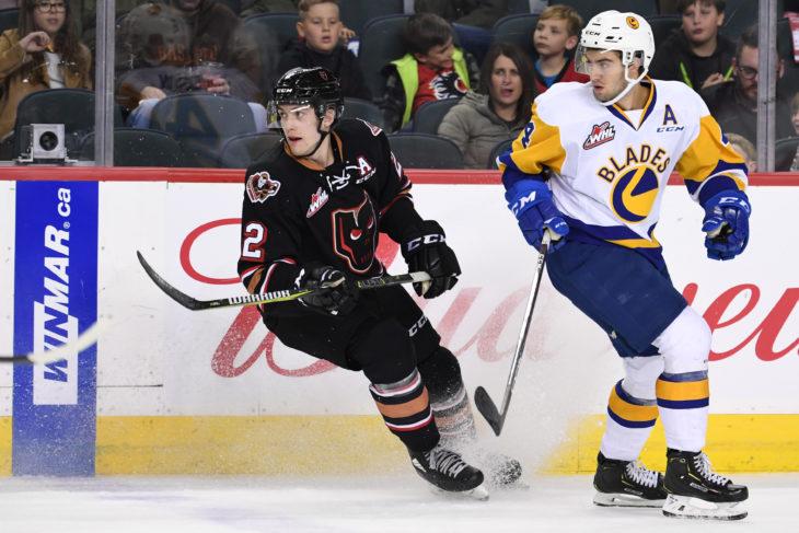 Dakota Krebs is closing in on 200 career WHL games