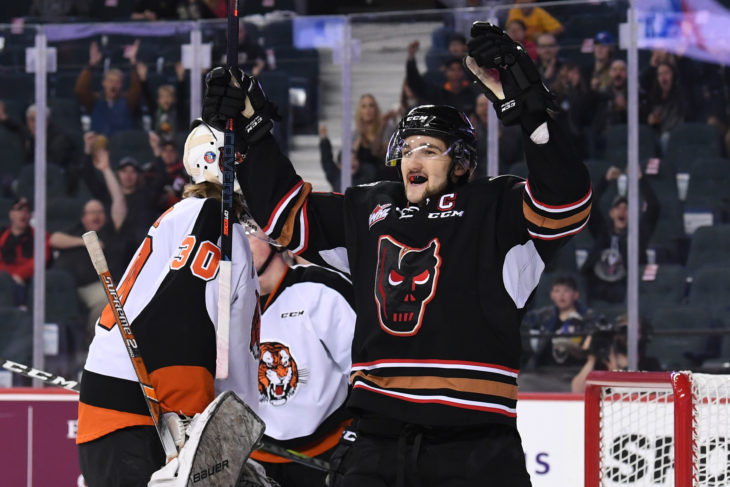 The Hitmen have scored 11 goals in their last three games played.