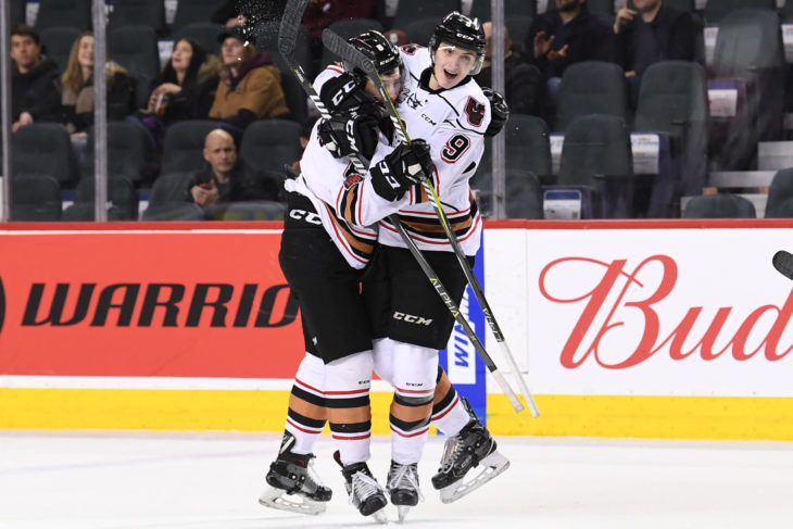 The Hitmen powerplay has jumped into the top five in the league over the course of the trip