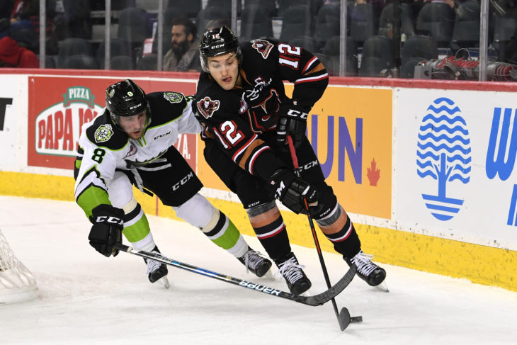 The Hitmen powerplay now sits in the top five in the WHL with the recent stretch