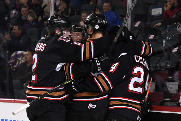 Hitmen will look to get their powerplay on track against Red Deer, going 1-21 in the first seven games