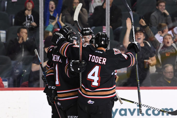 The Hitmen has gone 11-33 (33.3%) while the penalty kill is 35-40 (87.5%) in the last eleven games