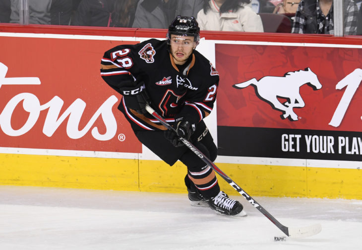 Since arriving to Calgary, Malm has been a point a game player with 19 points in 19 games