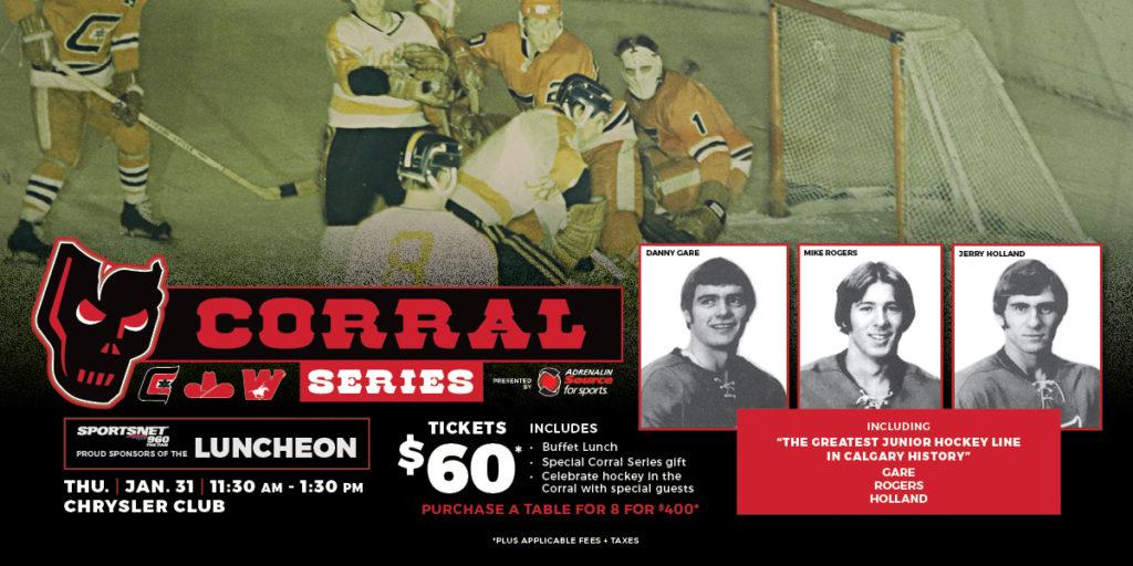 Hitmen To Reunite The Greatest Junior Hockey Line In
