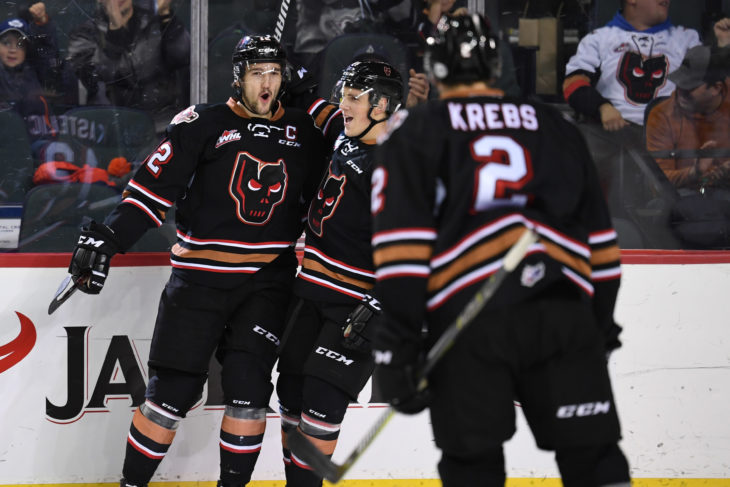 With a 2/13 mark on the PP in the first four games, the Hitmen will look to generate more on the man-advantage