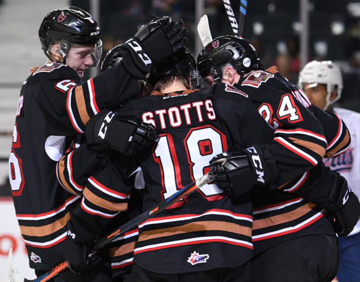 The Hitmen have drawn the fewest road power play chances in the league with 67 in 22 games