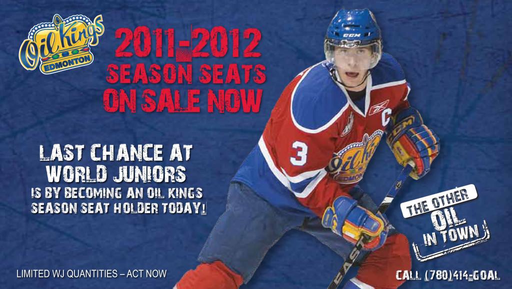 Oil Kings Season Seats Your Last Ticket To World Juniors Edmonton