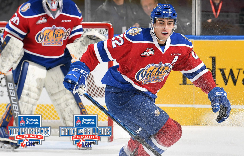 Robertson Selected To Play In 2019 Sherwin Williams Chl Nhl Top