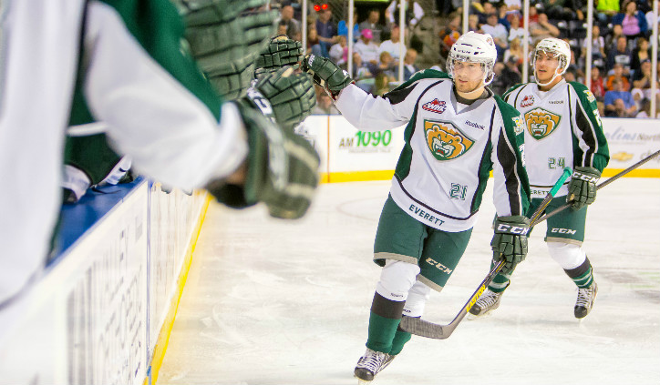 Josh Winquist Continues Chase To Nhl With Bridgeport Everett