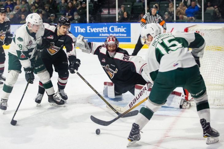 EVERETT, WA - FEBRUARY 10: (Photo by Christopher Mast/Everett Silvertips)