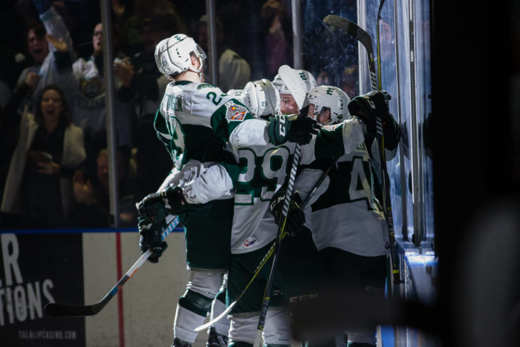 EVERETT, WA - MAY 11: (Photo by Christopher Mast/Everett Silvertips)
