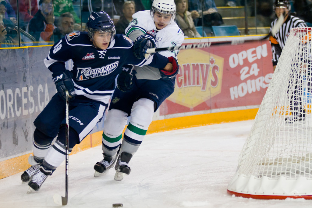 The Blazers Are In Seattle Tonight Kamloops Blazers