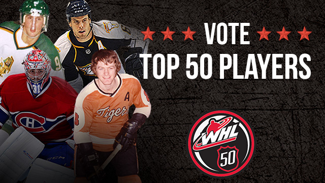 VOTING OPENS FOR TOP 50 WHL PLAYERS OF ALL-TIME – Kelowna