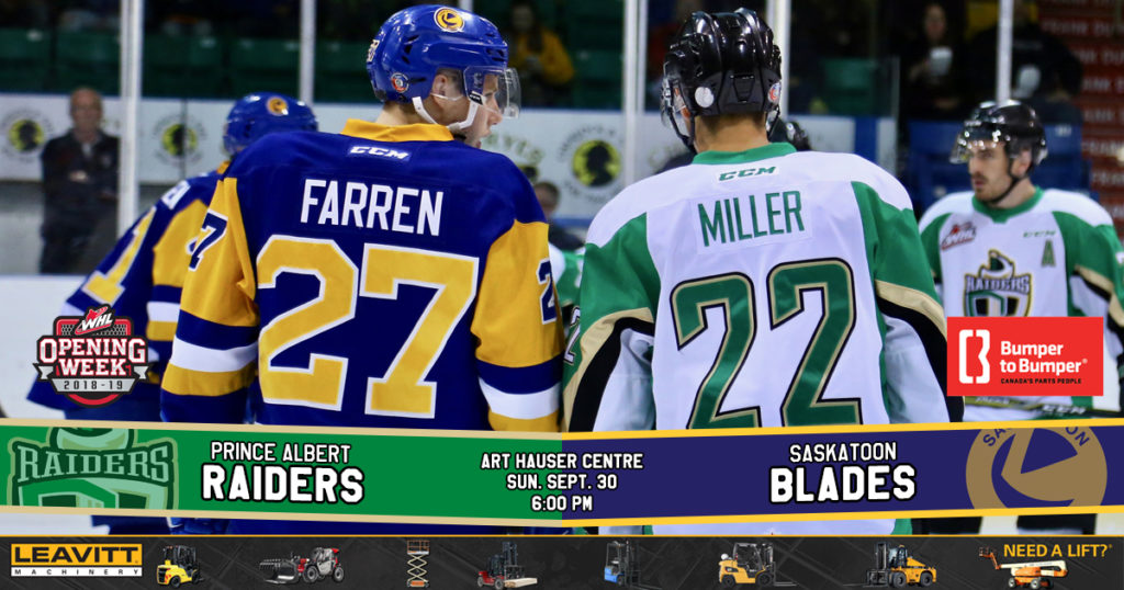 Leavitt Machinery Preview – Game 5 vs  Saskatoon – Prince Albert Raiders