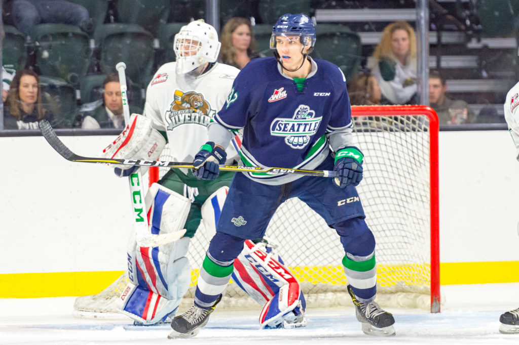 Cougars Acquire Maclean Prospect From Seattle Thunderbirds Prince