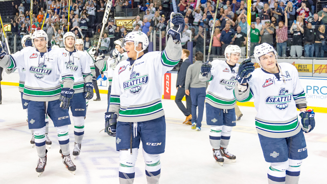 T Birds Advance To Western Conference Championship Seattle