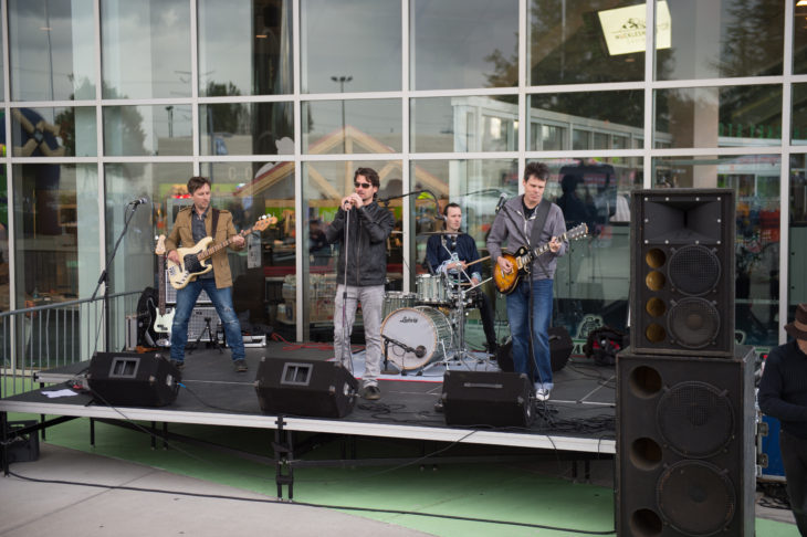 Point Five at the Party on the Plaza. All photos by Seattle Thunderbirds team photographer Brian Liesse