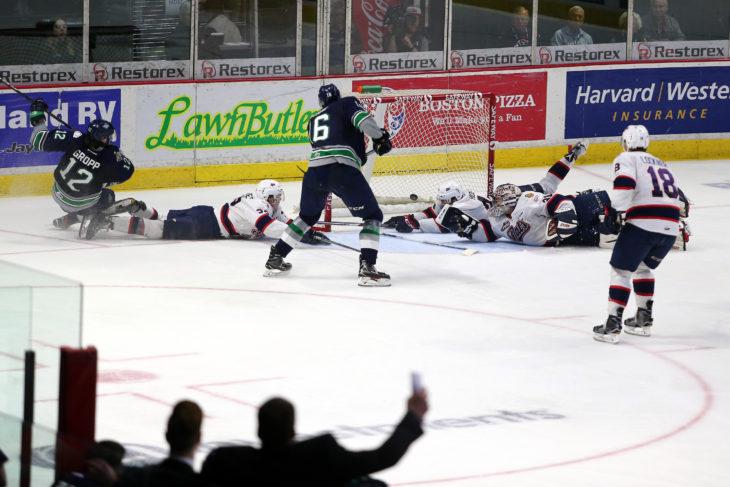 T Birds Win Western Hockey League Championship Seattle Thunderbirds