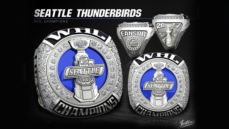 Jostens Delivers Seattle Thunderbirds Western Hockey League